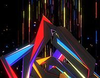 Dancing Fluorescent Visuals