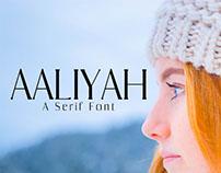 Free Aaliyah Serif Font