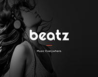 Beatz - Online Music Concept (Free PSD)