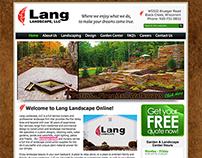 Lang Landscape, LLC ~ Wisconsin