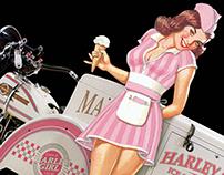 Harley-Davidson - Servi-Gals