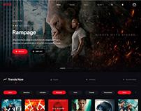 Redesign Concept Video Website Netflix