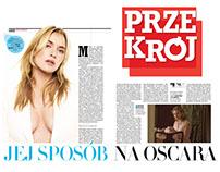 Przekrój / spread layouts