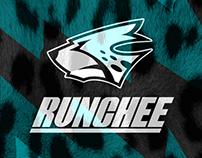 All-around runner cheetah 'RUNCHEE' brand identity