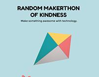 Random Makerthon of Kindness