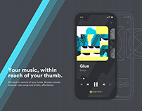 Music Player - App concept