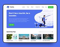 Travel Web Platform Design