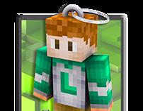 Camisa Personalizada Minecraft - Lucas
