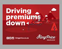 King Price Insurance, Golf Score Card