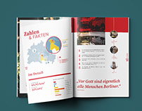 Berlin Brochure–Editorial Design and Layout