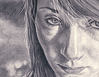 2011 Graphite Self Portrait