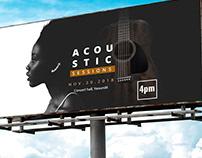 Acoustic session concert