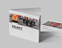 Catalog For Kolorit Professional Line