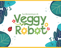 Veggy Robot Illustrated Kid's Book