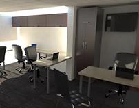 Propuesta Layout y mobiliario oficina