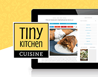 Tiny Kitchen Cuisine - Food Blog Branding