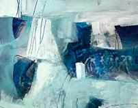 Blue Lagoon Blue by Kathleen Mooney