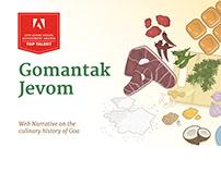 Gomantak Jevom: Web Narrative