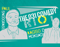 Comedy Event Poster | The 031 Comedy Riot