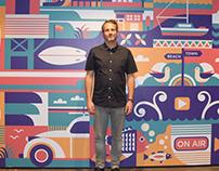 TVNZ Mural