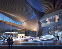 Arqui9 - Futuristic Airport Terminal (Newtecnic)