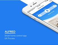 Smart home app UI/UX casestudy