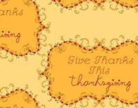 Give Thanks, Thanksgiving