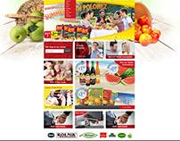 Polonez, new website view