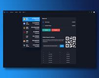 Dashboard Market Page