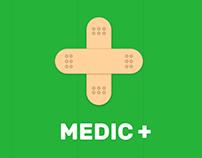 MEDIC+ UI/UX Design
