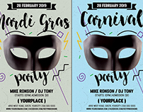 Carnival | Mardi Gras Flyer Template