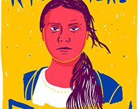 Right here righ now - Greta Thunberg