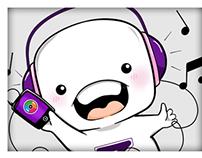 ZINGMP3: Mascot & Sticker