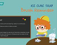 Colgate - Ice cube tray 'Brush Reminder'
