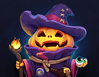 Pumpkin-warlock