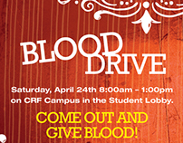 Blood Drive Promo Design