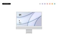 Freebie iMac Mockup 2021 - PSD