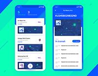 Parcel Tracking App Concept