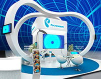 Rostelecom exhibition stand concept
