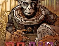 Space Ape, Illustration