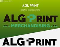 ALG Print | Diseño de Logotipo