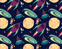 Space Icons and Pattern