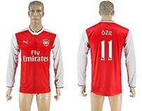 Billiga Arsenal Mesut Ozil fotbollströja 16-17,Köpa Mes