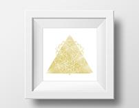 geometric animals // illustration
