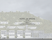 Hotel in Spetses, Greece