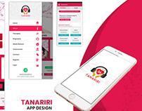 Tanariri UI/UX Design Android App