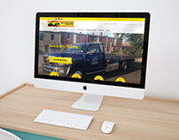 Recovery Tow Service Web Design