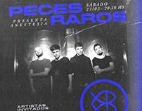 PECES RAROS FLYERS