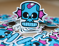 Skully Sticker!!!