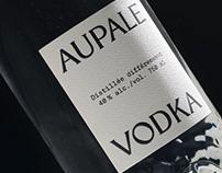 Aupale Vodka - Custom Bottle & Brand Design